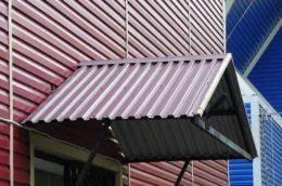 Червоний дах з профнастилу у Рівному