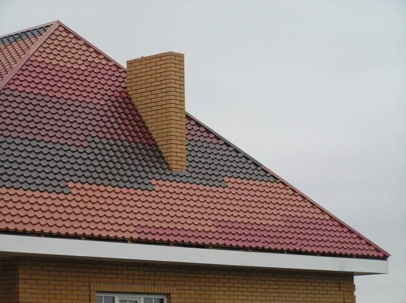 Металлочерепица крыша фото