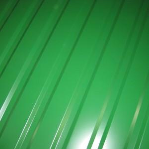 Пример профлиста С10 зеленого цвета