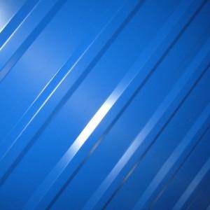 профилированный лист мп20 шириной 1100 синего цвета