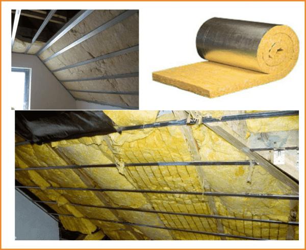 утепление гаража минеральной ватой 3 картинки