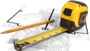 Замер крыши для расчета необходимых материалов